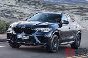 BMW X5/X6に625馬力のMモデルを追加 「X5 M」「X6 M」日本上陸