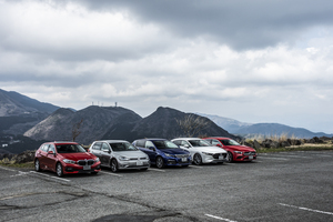 BMW 1シリーズと競合が集結! 独仏日コンパクトハッチ5台の一番勝負【渡辺敏史編】