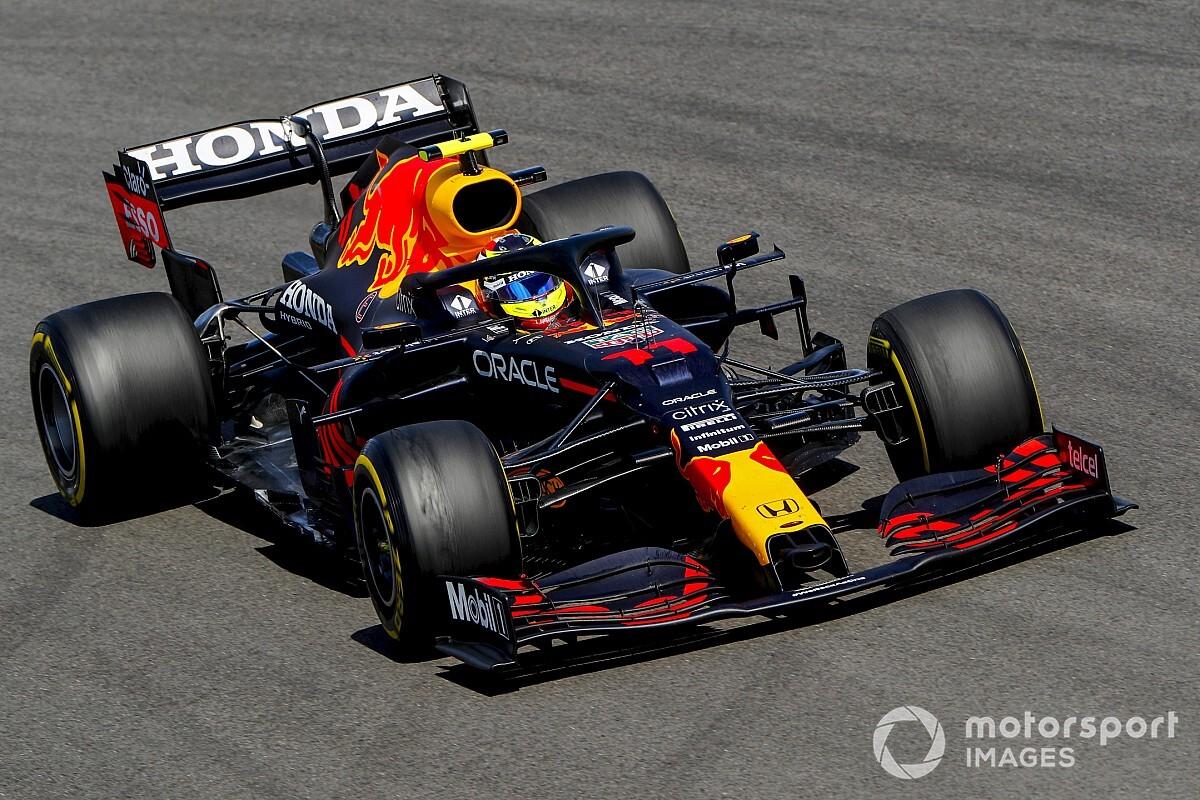"""レッドブル、ペレスの""""ロングスティント""""はハミルトン妨害ではなく「ファステストラップが狙いだった」 F1ポルトガルGP"""