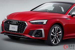 アウディ新型「A5/S5スポーツバック&クーペ」日本上陸! 外観デザインを大幅改良