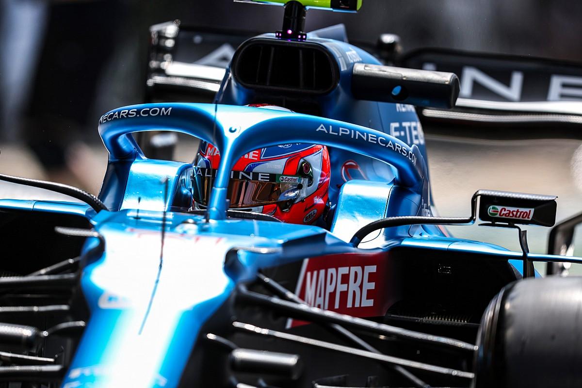 シャシー交換はいいきっかけに? エステバン・オコン予選13番手も「大きな進歩を遂げたよう」とチーム称賛|F1イギリスGP