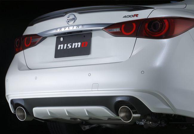 高純度チタン合金を使用し大幅な軽量化を実現。スカイライン400R用 スポーツチタンマフラー発売
