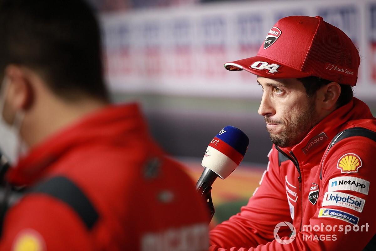 【MotoGP】ドゥカティ、テルエルGPもチームオーダー無し? アラゴン予選ではドヴィツィオーゾとペトルッチにいざこざも発生