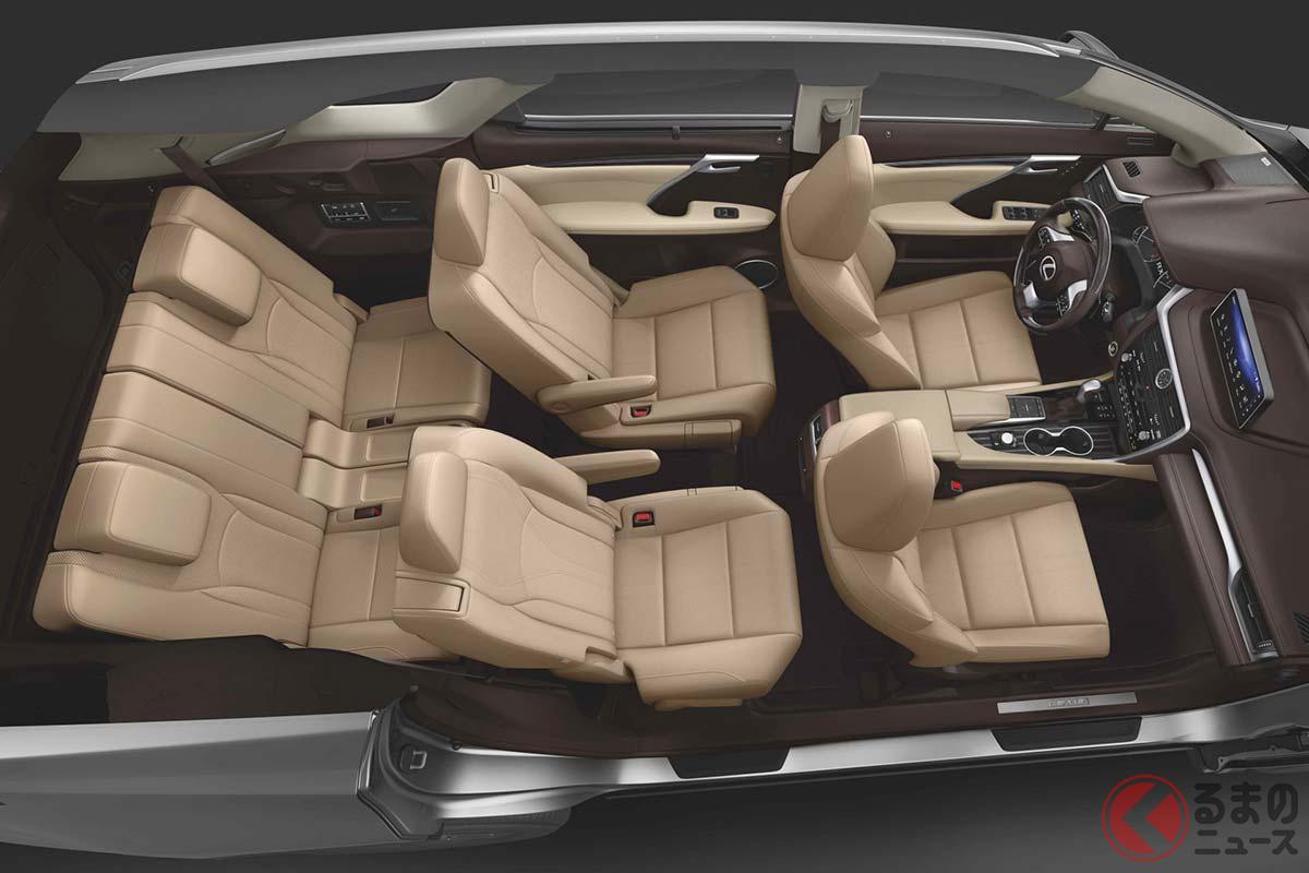 レクサスの高級3列SUV新型「RX L」登場! 新ディスプレイ搭載して米国で発売へ