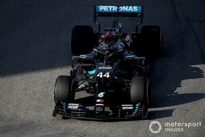 F1ロシアFP3:メルセデスワンツーも3番手以下は相変わらず混戦に。レッドブル・ホンダのフェルスタッペンは6番手