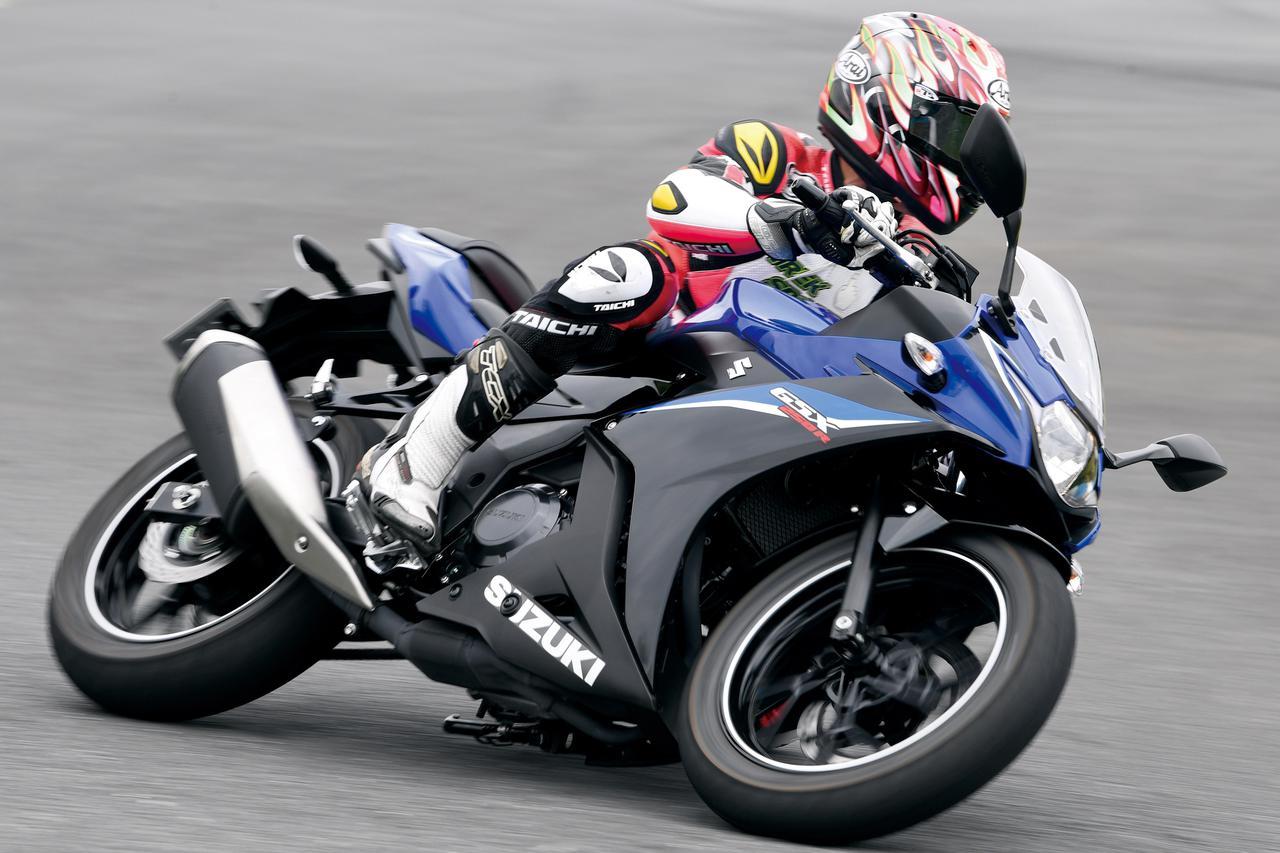 【スズキ GSX250R 編】チュートリアル福田充徳さんが250ccスポーツバイクを乗り比べ!〈サーキット試乗インプレ〉