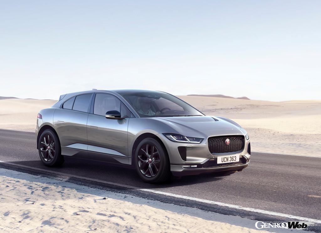 スタイリッシュな電動SUV、ジャガー I-Paceの個性を際立たせる特別仕様「ブラック」誕生