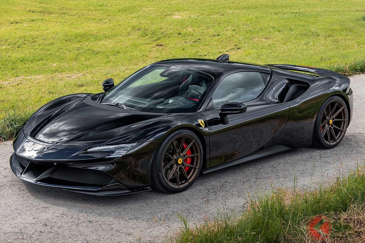 【1033馬力】フェラーリ「SF90」をチューニング! ノビテックのファーストステップとは