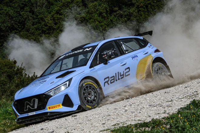 ヒュンダイi20 Nラリー2、WRCベルギーで実戦デビューへ。ソルベルグとフッツネンがドライブ