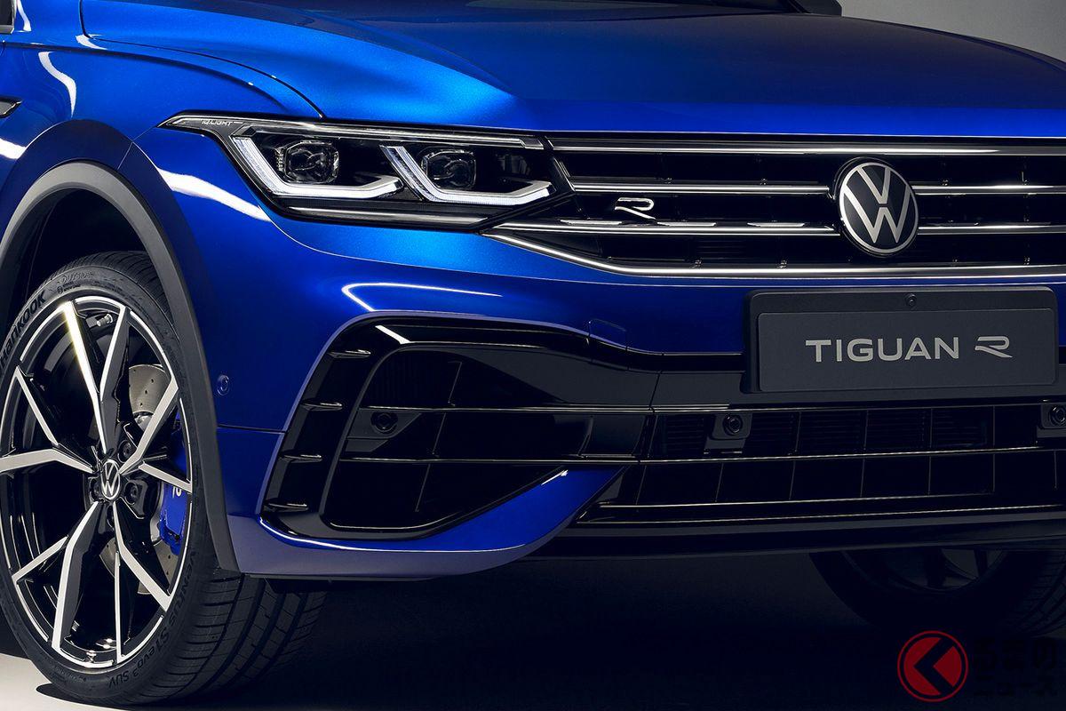 320馬力×4WDのスポーツSUV! VW「ティグアンR」登場 約705万円から