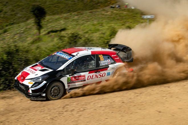 勝田貴元、表彰台を期待させる走りで自己ベストの4位入賞「これからも努力し続ける」/WRC第4戦