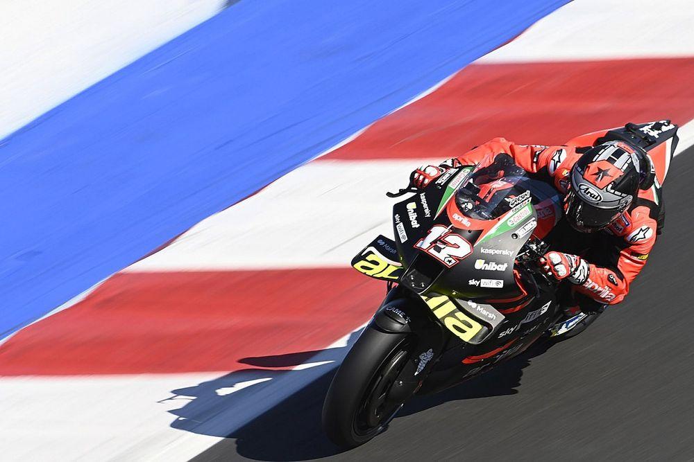 【MotoGP】アプリリアでの走りはまだまだ発展途上……ビニャーレス「もう少し速く走りたかった。もっと学ばなきゃ」