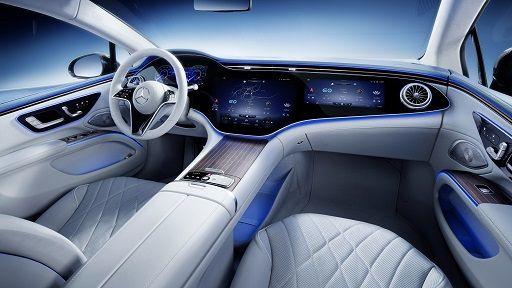 メルセデス・ベンツ、EVのフラッグシップ「EQS」世界初公開 最新技術を満載