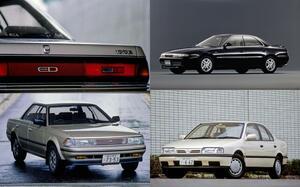 RX-7「じゃない」アンフィニも! いまや絶滅危惧種の90年代「FFスポーツセダン」4台