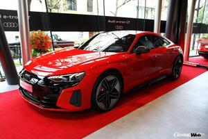 アウディの新型4ドア電動クーペ「e-tron GT」が日本上陸! EV初の「RS」も同時発売へ