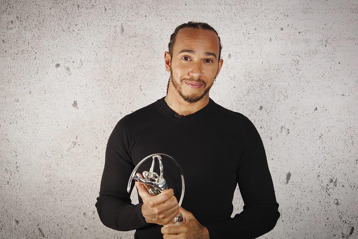 ルイス・ハミルトン、3度目のローレウス賞を受賞……不平等と戦う社会活動が高く評価