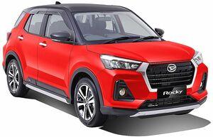 ダイハツ、インドネシアでコンパクトSUV「ロッキー」発売 トヨタにもOEM供給