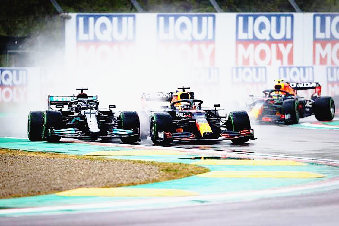 F1第2戦、レッドブル・ホンダのフェルスタッペンが今季初勝利 アルファタウリの角田は12位