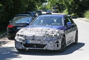 【スクープ】BMWエレクトリック3シリーズ、市販型に専用LEDとDRLを装備!
