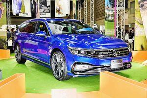 VWジャパン、新型「パサートヴァリアント」を横浜で国内初披露