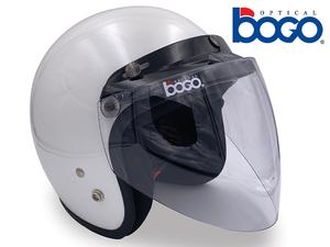 bogo オプティカルの汎用ジェットヘルメット用シールド「ジェットシールド」が発売