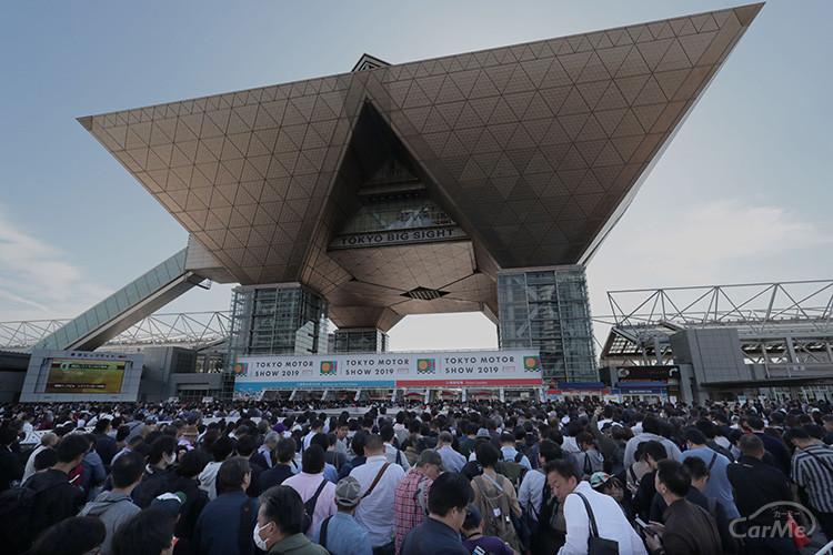 10月秋に開催が予定されていた東京モーターショー2021の中止が決定