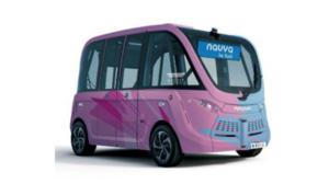 羽田空港の大規模複合施設HANEDA INNOVATION CITYで国内初の自律走行バス「NAVYA ARMA」の定常運行を開始