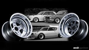 「旧車乗りは超必見!」最大12J! SSRのマークII&マークIIIの深リムモデルが限定復刻