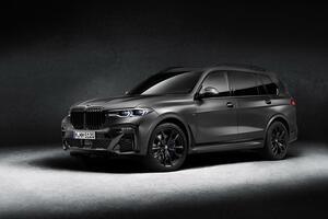 BMW X7に漆黒の限定車「エディション・ダークシャドウ」を設定し7台限定で発売