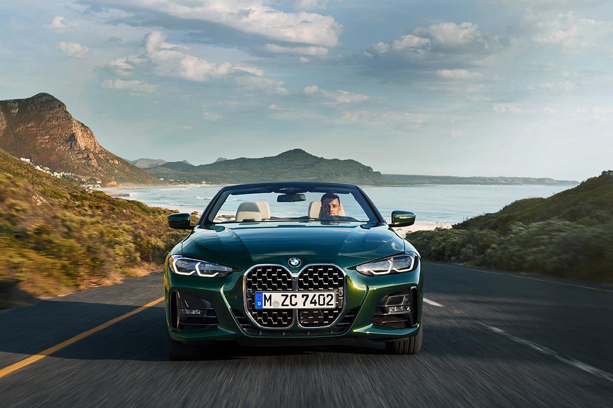 新型BMW 4シリーズカブリオレ登場! 最高出力387馬力の高性能モデルも設定