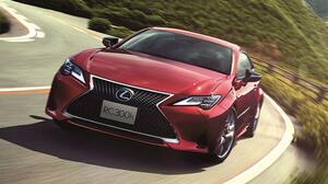 レクサスRC、RC Fが一部改良に。ドライブフィールと安全・快適性能が向上