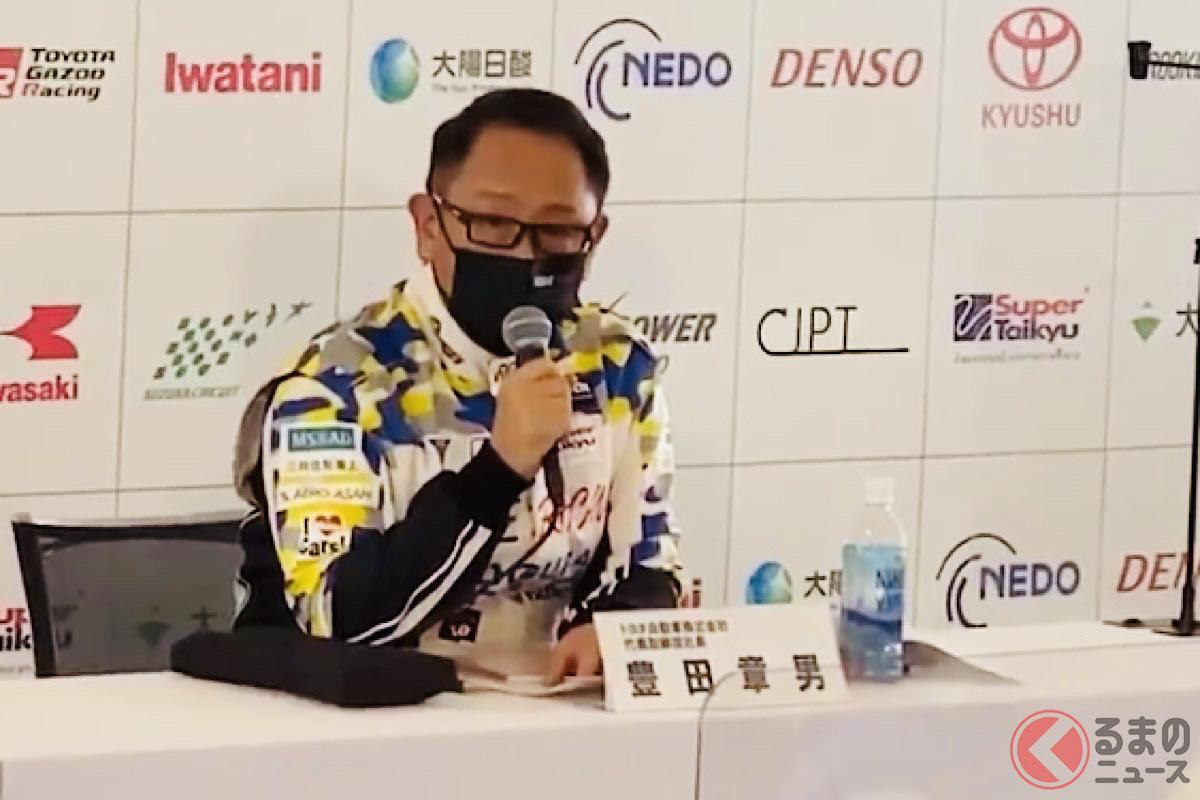 豊田会長「五輪で許されても四輪二輪は許されない…」 同じスポーツでなぜ開催基準が異なるのか