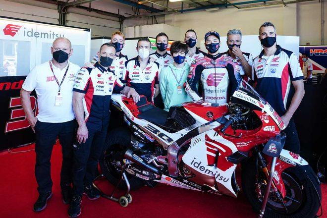 中上貴晶「チームのホームレースで10位。前進できてよかった」/MotoGP第14戦サンマリノGP決勝
