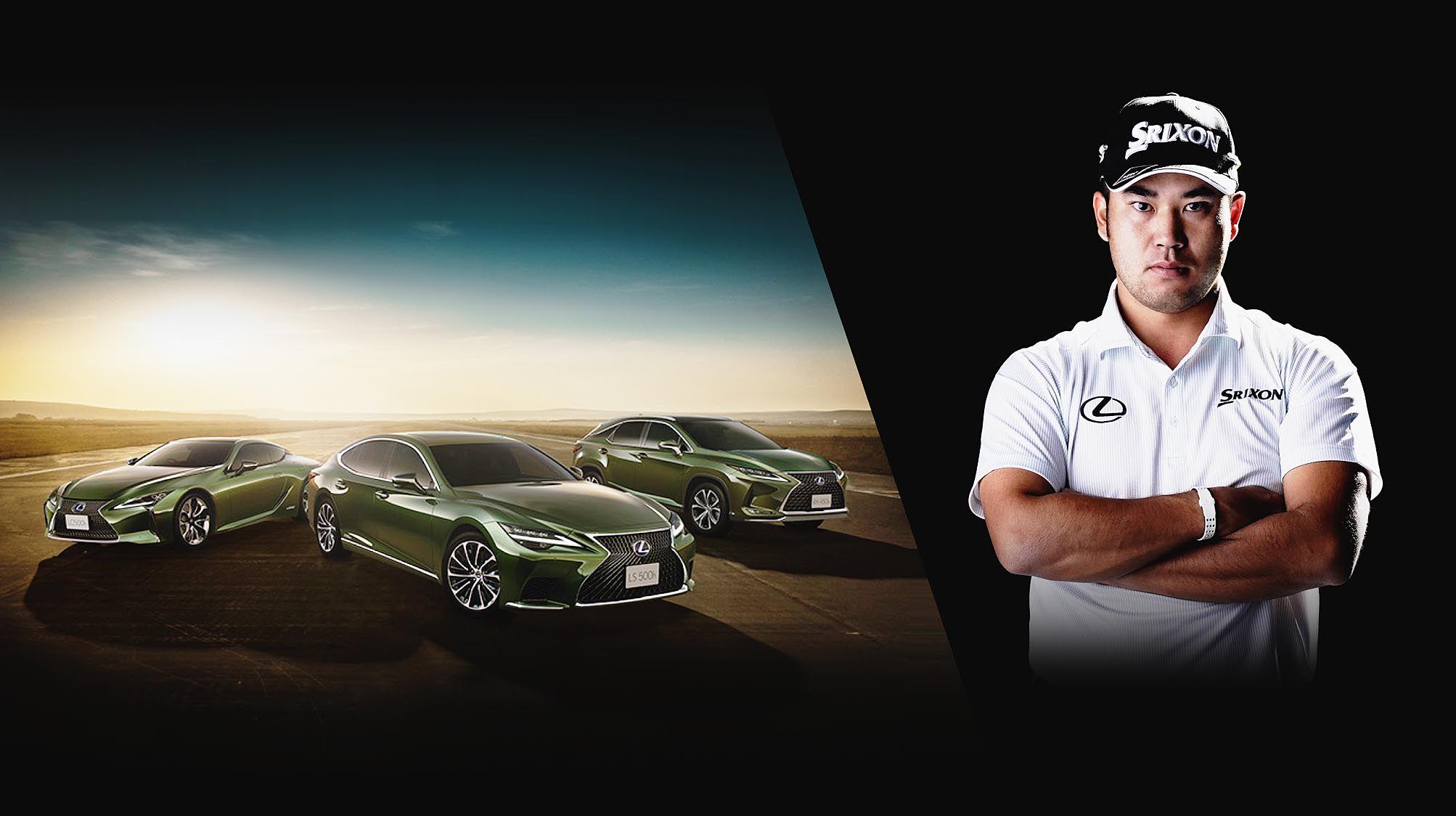 トヨタ、松山選手のメジャー初制覇記念しレクサスLS・LC・RXに限定車 レプリカキャディバッグ付き