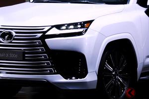 レクサス新型「LX500d」世界初公開! V6ディーゼルターボ搭載の最上級SUV 露でお披露目