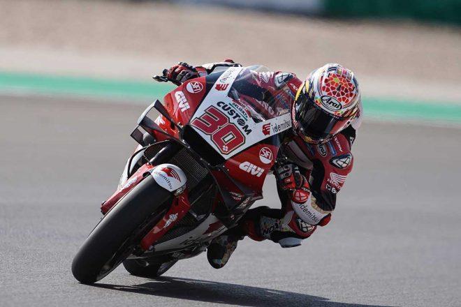 中上貴晶「大きな転倒による痛みで苦戦しましたが、ベストを尽くしました」/MotoGP第3戦ポルトガルGP初日