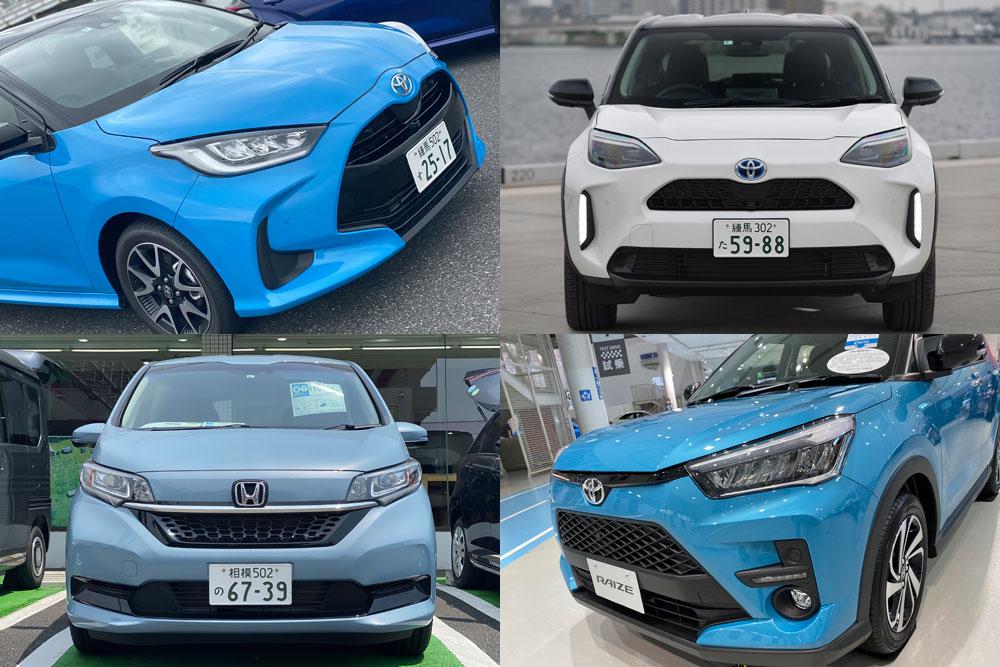 【トヨタが断トツ】5月の登録車販売、トップ5独り占め ヴェゼル新型は4060台