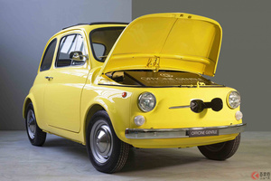 ついに電動チンクエチェントの1号車が完成! どうして古い「500」をEV化するのか?