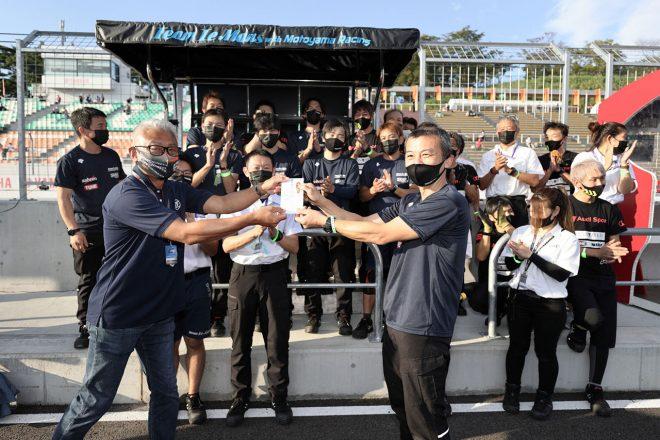 スーパーGT第5戦SUGOのZFアワードは車両修復を果たしたTeam LeMans w/MOTOYAMA Racingが受賞