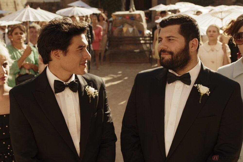 イタリアの村を舞台にゲイカップルをめぐる大騒動『天空の結婚式』
