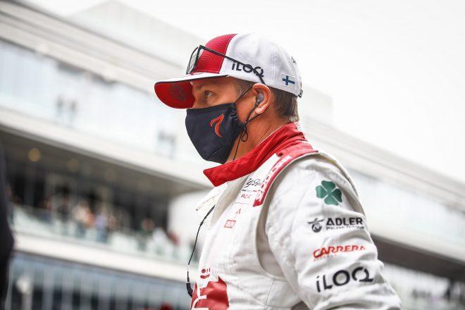 ライコネン8位「タイヤ交換の判断が良かったことが入賞につながった」アルファロメオ/F1第15戦決勝