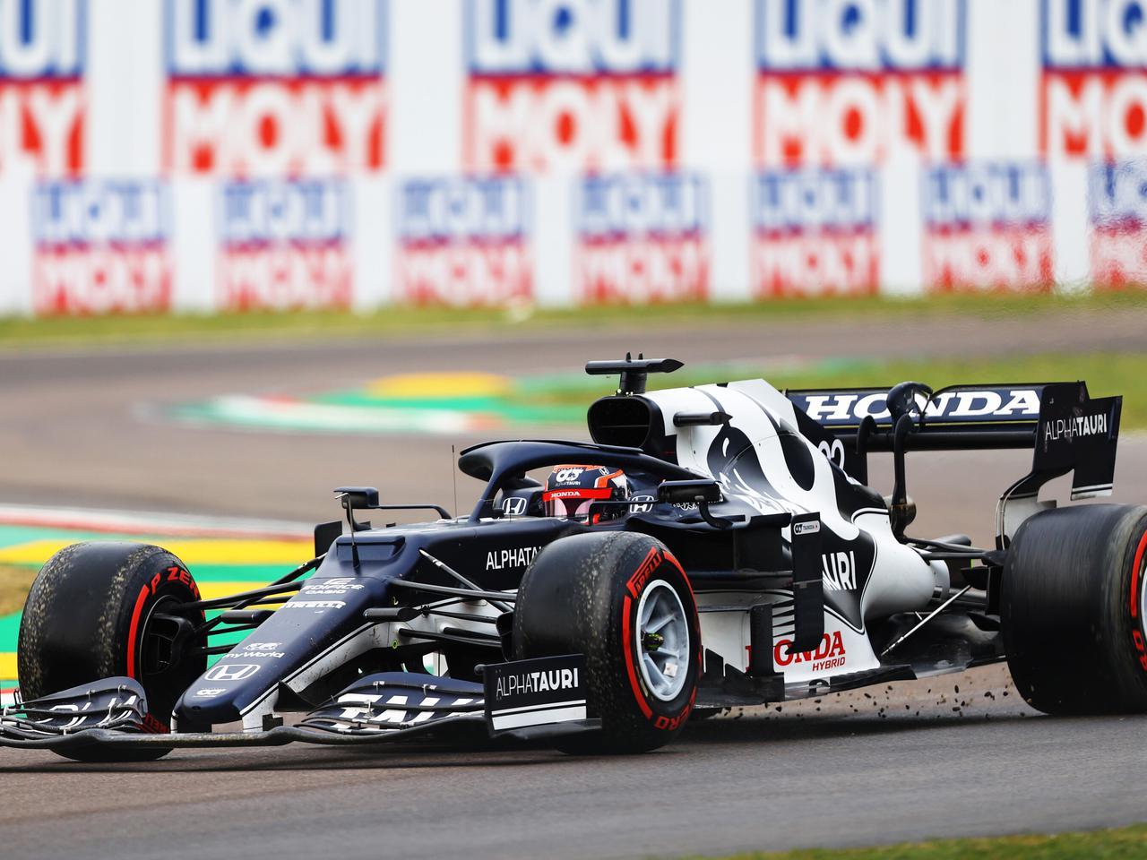 2021年F1第2戦で角田裕毅は連続入賞ならず。好ペースで走行も、なぜスピンを喫したのか【モータースポーツ】