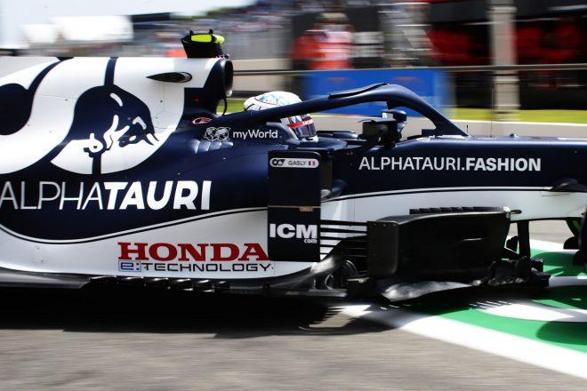 ホンダが新ロゴで初走行「3台の新PUの機能確認等を順調に進めた」と田辺TD/F1第7戦金曜