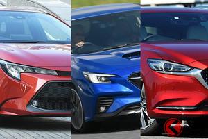 どのステーションワゴンが良い? トヨタ・スバル・マツダの違い