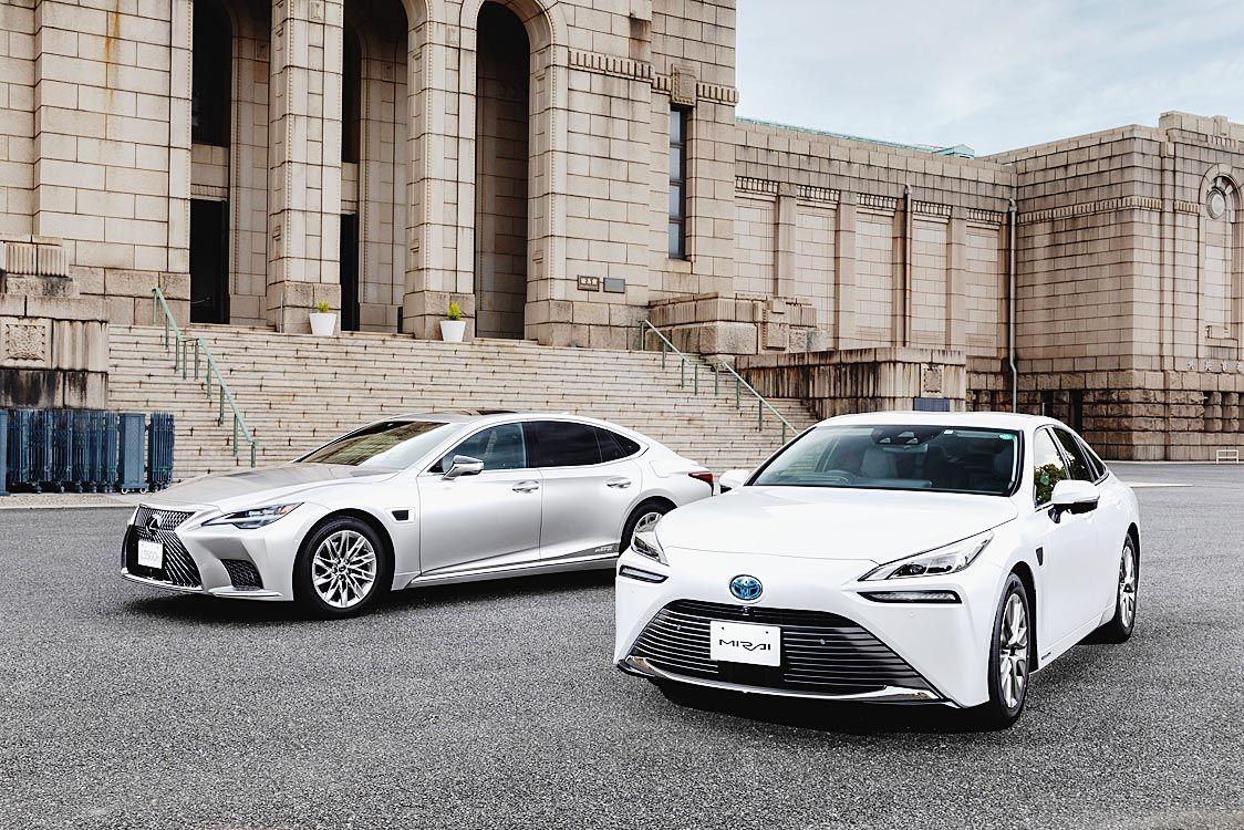 トヨタ、「レクサスLS」「ミライ」に高度運転支援技術「アドバンスト・ドライブ」を搭載 トヨタ初のハンズオフ対応