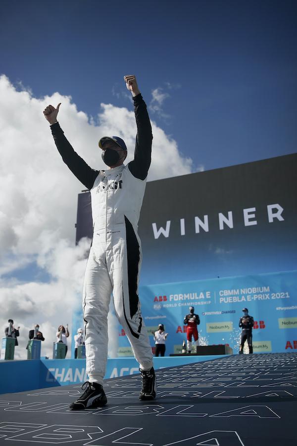 フォーミュラEシーズン7 涙のシーズン初優勝を飾ったエド・モルタラ 日産オリバー3位