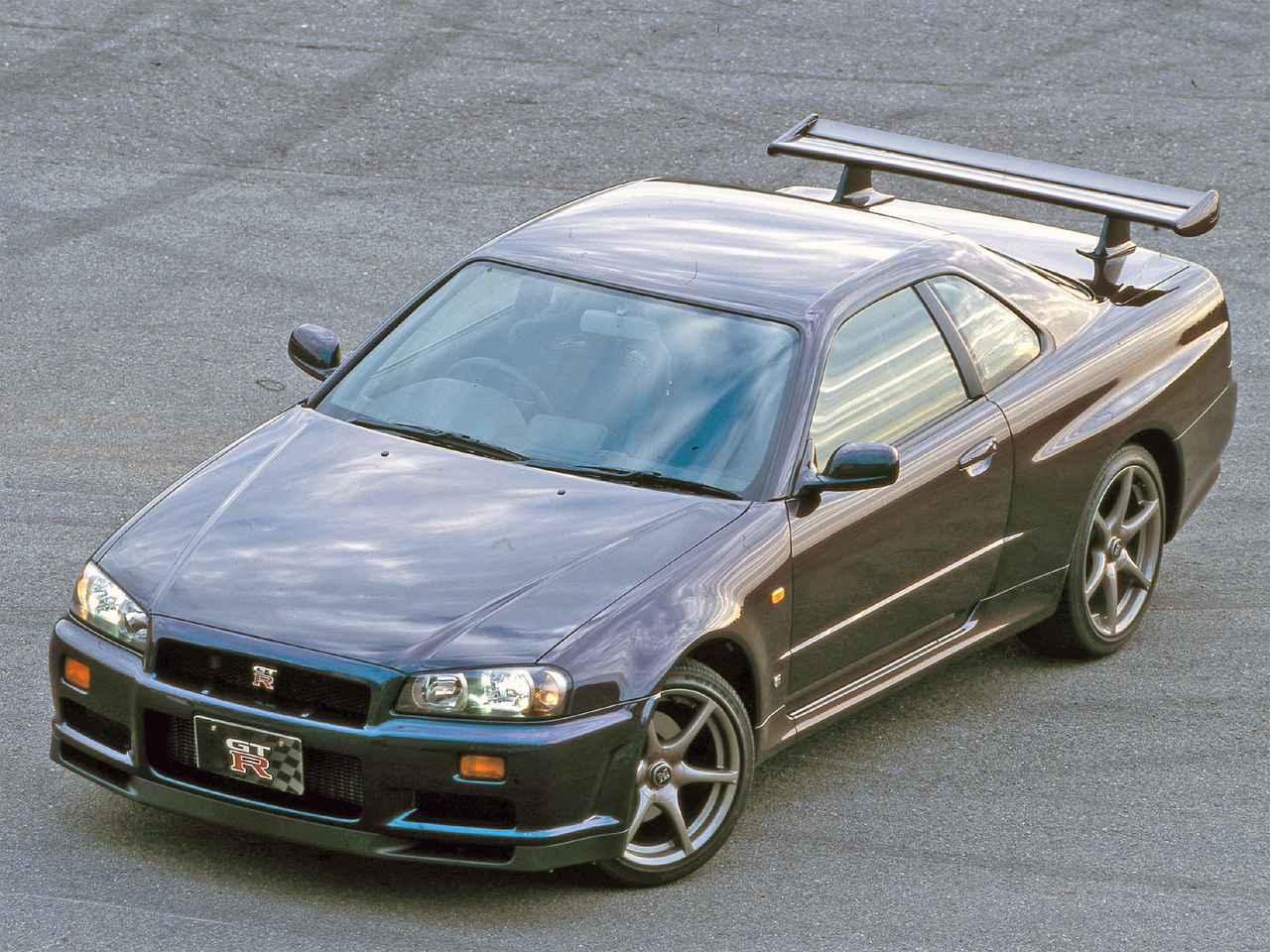 【平成スポーツPVランク第3位】日産 スカイラインGT-R(BNR34型:1999年1月発売)