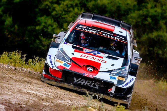 トヨタのロバンペラ、初参戦アクロポリスのシェイクダウンで驚速タイム/WRC第9戦ギリシャ
