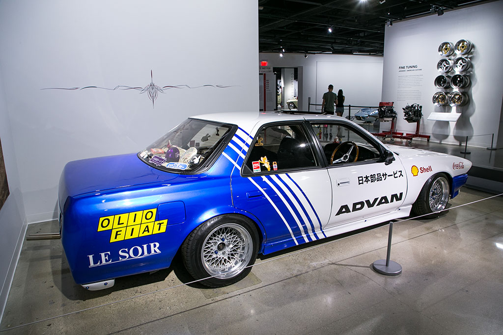 「アメリカの博物館が日本の改造車文化を大真面目に特集!?」ドリフト仕様から街道レーサーまで・・・Part.1
