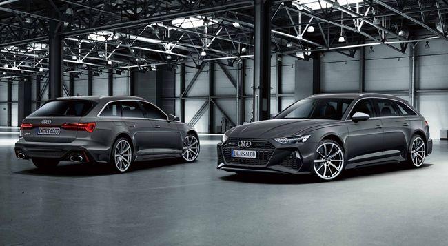 アウディのRSモデルに高性能ステーションワゴンの新型RS6アバントとプレミアムスポーツ4ドアクーペの新型RS7スポーツバックを設定